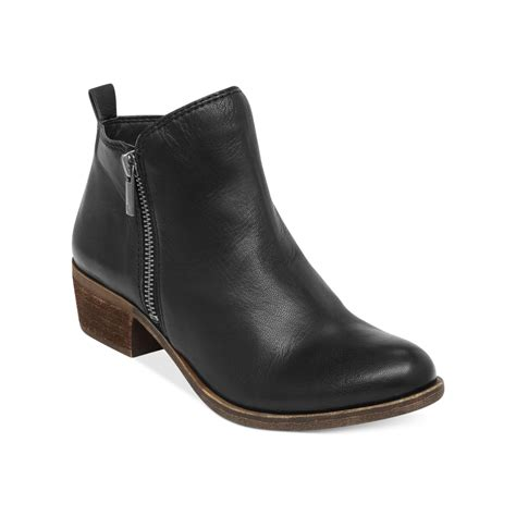 booties shoes lucky brand s basel booties in black lyst