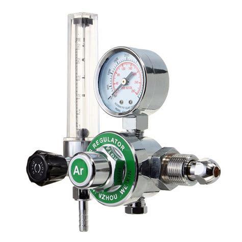 Regulator Co2 W Single Pressure Meter 2016 high quality argon co2 co2 gas mig tig இ flow flow meter welding weld regulator