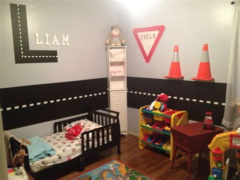 construction themed bedroom transport construction themed toddler boys bedroom maybe