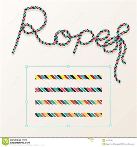 rope pattern brush illustrator download braided cartoons illustrations vector stock images