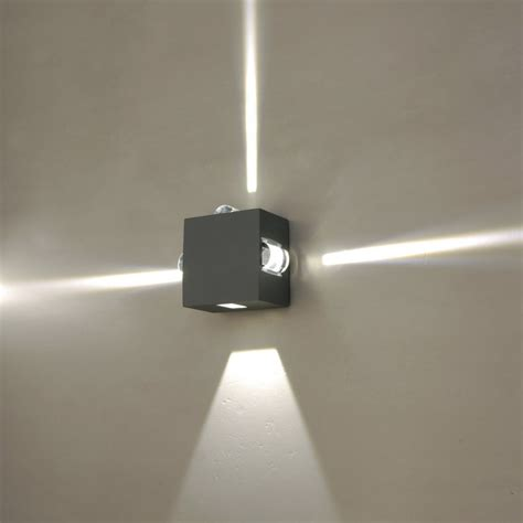 Outdoor Led Wall Lights Led Outdoor Wall Light Change The Atmosphere By Creating Subtle Vibrant Or Exciting Vibes