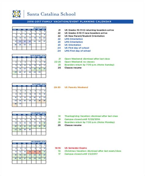 calendar of events template word event calendar templates 9 free word pdf format
