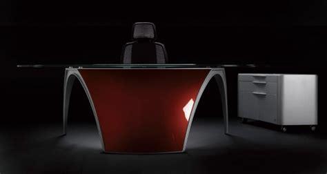 futuristic desks futuristic desks for home office luna by uffix digsdigs