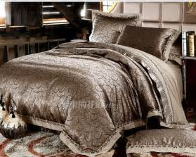 Luxury Bed Sets Luxury Jacquard Comforter Bedding Sets Gold Duvet Cover King Size Bedding Set Bedclothes Bed Set
