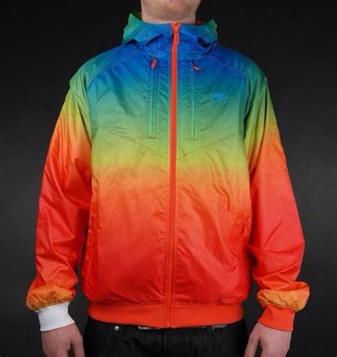 colorful nike jacket jacket rainbow windbreaker nike wheretoget