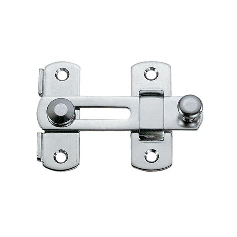 cabinet door latches lowes shop sugatsune 2 97 in stainless steel bar latch at lowes com