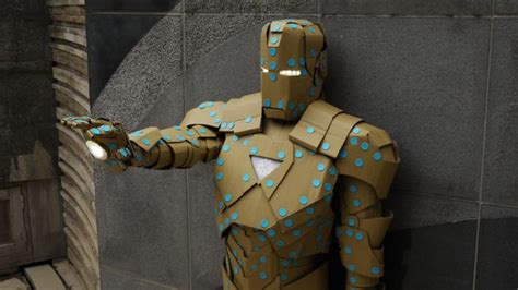 How To Make Paper Iron Suit - how to make an iron costume