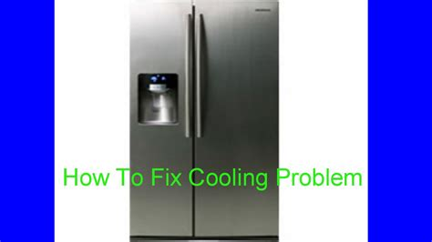 refrigerator fan not working samsung side by refrigerator not cooling but freezer is