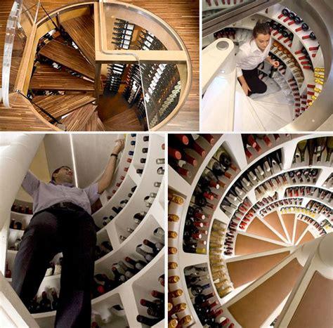 Spiral Wine Cellar: An Underground Cellar for Special Wines