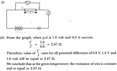 resistor based question electricity chapter wise important questions class 10 science learn cbse