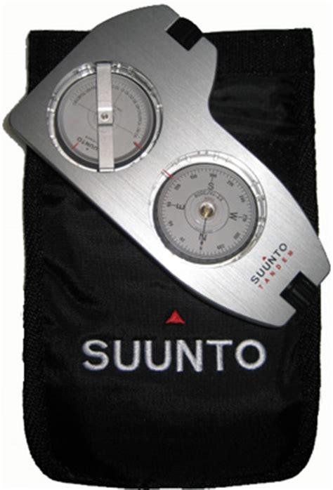 Suunto Tandem Clinometer With Precision Compass the suunto tandem compass combo is an excellent choice for satellite alignment