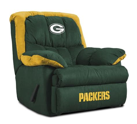 Green Bay Packers Home Team Recliner Packers Football
