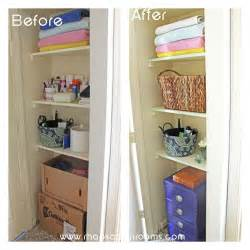 Small Bathroom Organizing Ideas organizing a small bathroom space hometalk