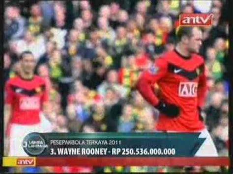 Sepatu Bola Pemain Dunia 5 pemain sepak bola terkaya di dunia tahun 2011