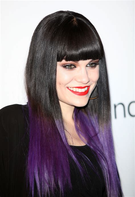 what purple hair dip dyed with black looks like image gallery purple hair
