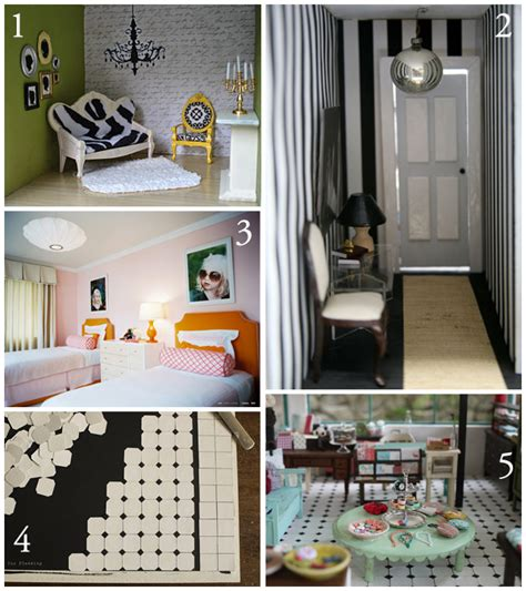 Dollhouse Decorating by Dollhouse Diy Decorating Inspiration The Creative Salad