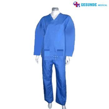 Baju Pasien Baju Operasi Baju Rumah Sakit Murah Bahan Bagus 1 baju operasi baju ok dokter toko medis jual alat kesehatan