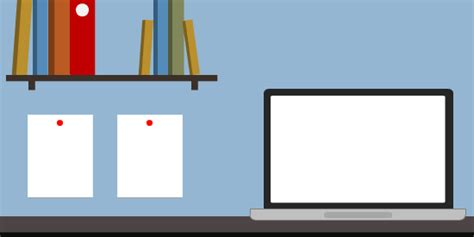 Minimalist Workspace Flat Design Graphics For E Learning 50