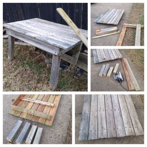 coffee table diy reclaimed wood stuff to make