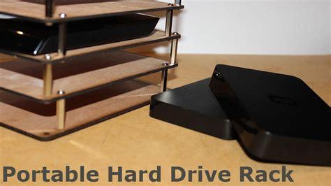 Drive Storage Rack by Portable Drive Rack