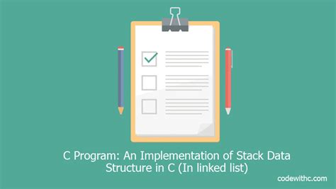 Tutorialspoint Linked List In C | c program an implementation of stack data structure in c