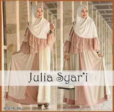 Gamis Maxi Busui M Fit L Ashanti Pink Pashmina Katun Denim setyaolshop dress hijabers cantik dan elegan setyaolshop