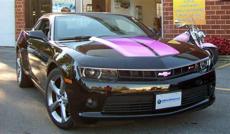 pink and black camaro xtreme graphix aftermarket graphics