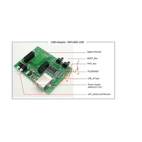 Zigbee Module cc2530 zigbee module usb to uart backplane drf1605 usb