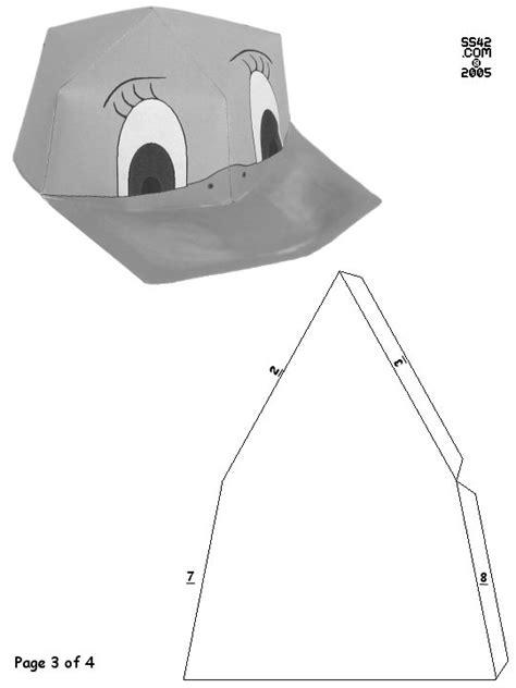 Papercraft Hat - bwduckcap3