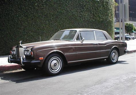 Rolls Royce Corniche Coupe 1975 Rolls Royce Corniche Fixed Coupe 22429