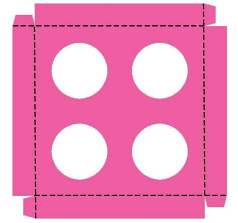free cupcake box template cupcake insert box diy non costly projects