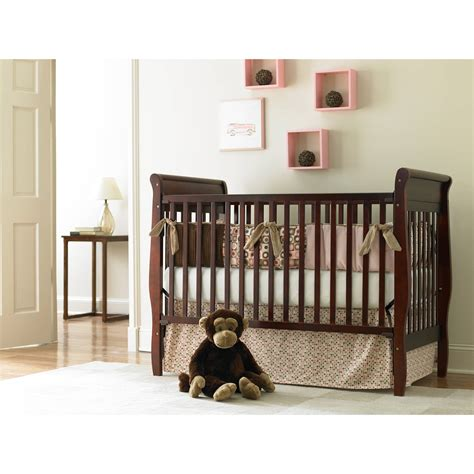 bsf baby sydney 2 in 1 lifetime fixed side crib espresso