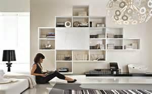 Floating Media Shelves by Soggiorno Con Libreria Sospesa L Economica