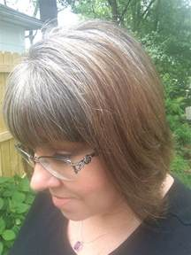 how to grow in gray hair with highlights 36 best images about hair on pinterest long gray hair