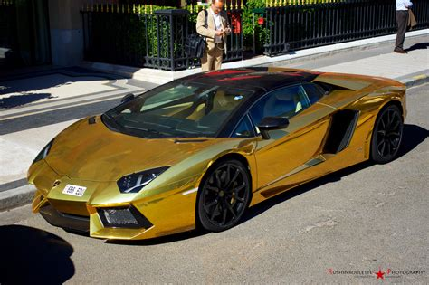 lamborghini golden gold lamborghini aventador roadster lp700 4 become a