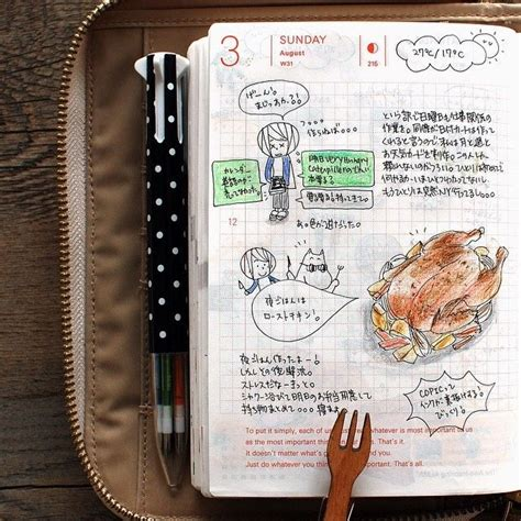 instagram post by rc ritacyc journal journaling and instagram post by kaori ryo amidwinternd hobonichi