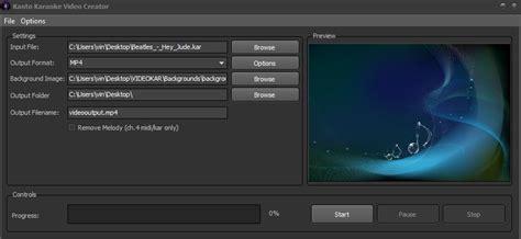 format video karaoke how to create video karaoke songs for youtube kanto editor