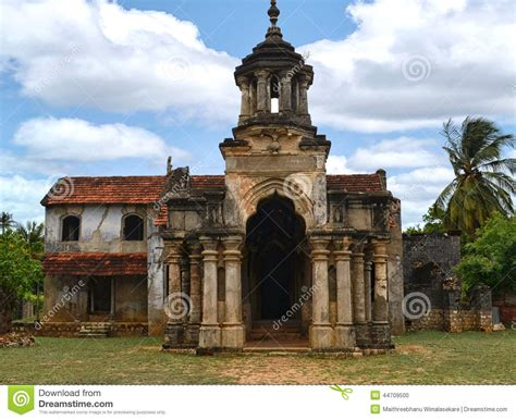 Faculty Ruin jaffna palace ruins editorial image image of background