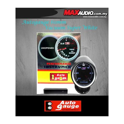 Speedometer New Cb150r Led Ori Ahm buy autogauge 2 5 quot white led defi smoke vacuum meter ag00381