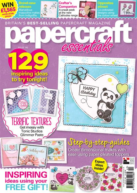 Cardmaking And Papercraft Back Issues - papercraft essentials issue 142 2017 187 pdf magazines