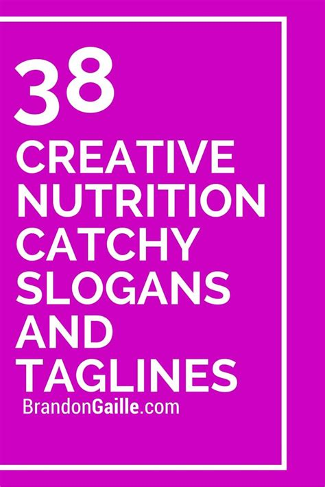 Detox Slogans by List Of 39 Creative Nutrition Catchy Slogans And Taglines