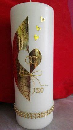 weihnachtskerze mittelpunkt ideen karins kreativstube kerze goldene hochzeit quot annemarie