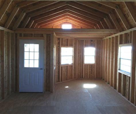 Derksen portable buildings interior ideas for cabins joy studio