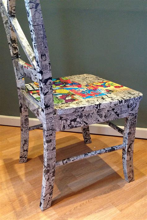 Decoupage Chair - decoupage chairs ethos upcycling