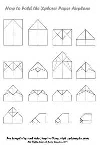 Paper Airplane Templates by Xplorer Paper Airplane Design And Templates