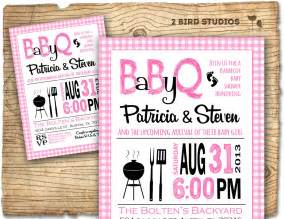 bbq baby shower invitation baby q baby shower invite coed