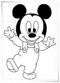 Ausmalbilder Micky Maus  Kostenlos