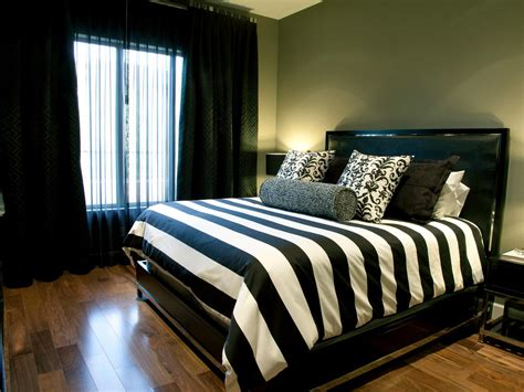 black and white bedroom decor black and white master bedroom photos hgtv