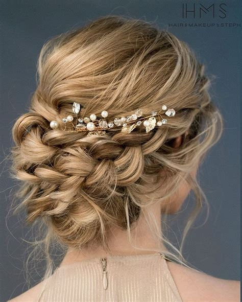 hair updo pictures with braids beautiful loose braided updos bridal hairstyle perfect for