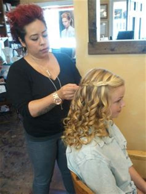 Hairstyles For Junior High School | 8th grade graduation hair so cute half up updo by